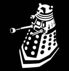 Doctor Who Dalek Vinyl Die Cut Decal Sticker Texas Die Cuts