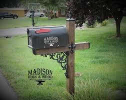Wrought Iron Mailbox Etsy