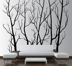Large Wall Vinyl Tree Forest Decal Removable 1111 Innovativestencils