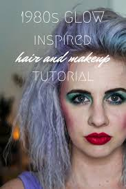glow inspired hair makeup tutorial