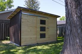 modern garden shed in windor ontario