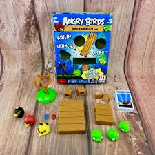 Angry Birds Board game knock on wood original packaging kids toys ...