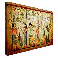 egyptian canvas wall art picture print