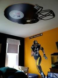 Pittsburgh Steelers Steelers Bedroom Steelers Bedroom Boy S Room Boys Room Decor