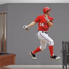 Bryce Harper Real Big Fathead Wall Decal Extras 1725244106