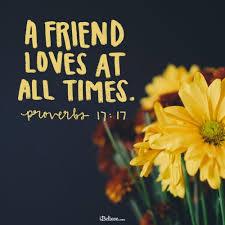 wonderful bible verses on friendship and having good friends
