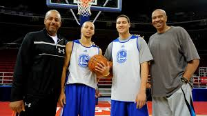 NBA Playoffs 2015: The Splash Fathers Dell Curry and Mychal Thompson