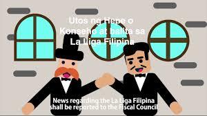 LA LIGA FILIPINA - YouTube