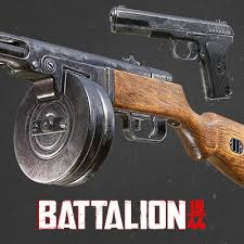 ArtStation - Battalion 1944 - Weapons - Lowpoly & Materials, Faye ...