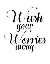 Wash Your Worries Away Sign Digital Print By Enchantedholidaysbyk On Etsy Bathroom Decor Signs Bathroom Art Printables Bathroom Stencil