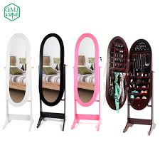 floor standing mirror oval shape