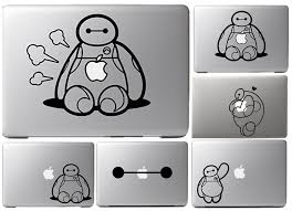 Baymax Hug Logo Decal For Apple Sticker Macbook Air 11 12 13 Pro 13 15 17 Retina Decal Laptop Wall Car Vinyl Logo Skin
