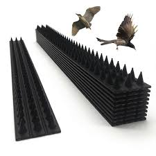 10pcs Anti Static Home Highway Black Easy Install Intruder Repellent Fence Wall Spikes Garden Security Anti Bird Thorn Burglar Repellents Aliexpress