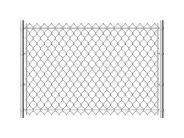 Chain Link Fence Realistic Metal Mesh Fences Wire Construction Steel Security Wall Industrial Border Metallic Texture Stock Vector Illustration Of Construction Danger 145079217
