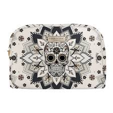 podevache skull make up bag amara