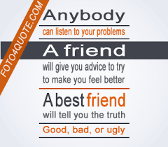 best friend quotes friends tell the truth foto quote