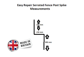Rsl Fence Post Repair Spike Support Bracket For Wobbly Fence Posts Inc Vat 14 75 Picclick Uk