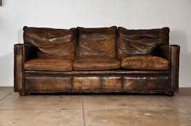 great distressed leather sofa home