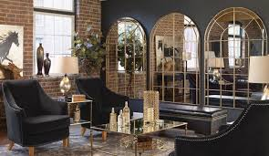 oversized mirrors make any space look