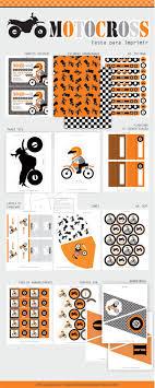 Motocross Festa Festa Para Imprimir Convites Festa Infantil