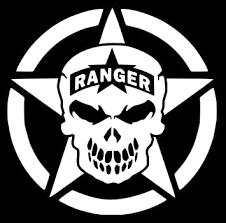 Amazon Com Ur Impressions Army Ranger Oscar Mike Star Scourge Skull Decal Vinyl Sticker Graphics For Cars Trucks Suv Vans Walls Windows Laptop White 5 5 Inch Uri328 Automotive