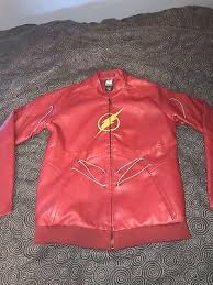 justice league the flash leather jacket
