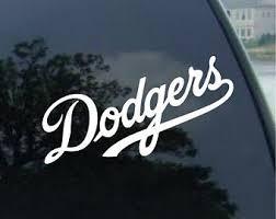 La Dodgers Decal Etsy