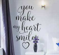 Happy Quote Wall Stickers Tenstickers
