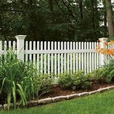 1 6 X 8 Rio Section White 1 Post 1 Cap Wayside Fence Company