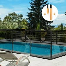 Costway 4 X48 Swimming Pool Fence Garden Fence Child Barrier Safety W 2 Size Sleeves