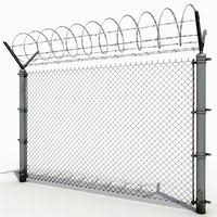 Wire Fence 3d Models