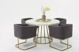 antique brass round dining table