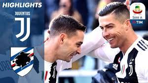 Juventus 2-1 Sampdoria | Ronaldo Double as Unbeaten Run Continues ...