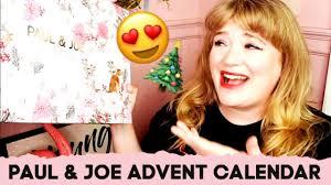 paul joe beauty advent calendar 2019