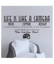 2015 Life Is Like A Camera Wall Sticker Quote Vinyl Room Wall Decal Home Decor Buy 2015 Life Is Like A Camera Wall Sticker Quote Vinyl Room Wall Decal Home Decor At
