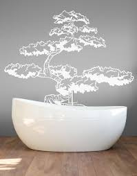 Japanese Bonsai Tree Wall Decal Sticker For Your Asian Theme Room Tree Wall Decal Wall Decal Sticker Japanese Bonsai Tree