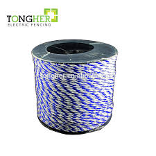 Electric Fencing Wire Rope Tape Polywire Polyrope Polytape Fence Cable View Polywire Tape Rope Tongher Product Details From Shenzhen Tongher Technology Co Ltd On Alibaba Com