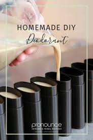 easy homemade deodorant recipe