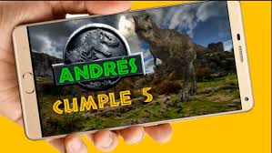 Dinosaurios Video Tarjeta Invitacion Cumpleanos Whatsapp 399
