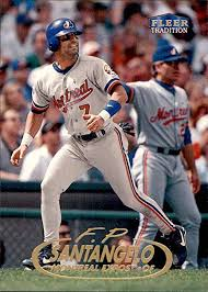 1998 Fleer Tradition #448 F.P. Santangelo MONTREAL EXPOS at Amazon's Sports  Collectibles Store