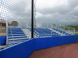 Outdoor Protective Padding Wall And Fence Keeper Goals Your Athletic Facility Equipment Experts