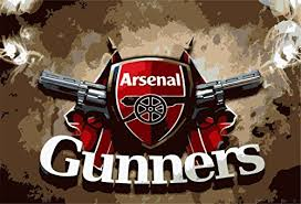 Large Arsenal The Gunners Flag Wall Stic Buy Online In Czech Republic At Desertcart