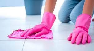 make tile floors shine without wax