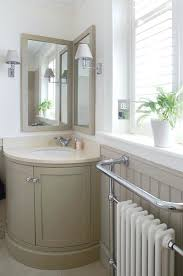 corner mirror bathroom cabinet design