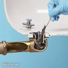 unclog a shower drain without chemicals