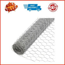 Poultry Supplies Poultry Netting Chicken Wire Metal Mesh Fence Garden Plant Fencing 1 X 6 X 50 Business Industrial Vigraf Cl
