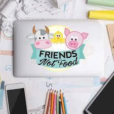 الكرتون الحيوانات خنزير البقر الفرخ ملصقات الكمبيوتر المحمول مضحك