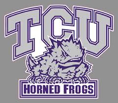 Tcu Horned Frogs Logo 6 Vinyl Decal Bumper Sticker Ncaa College Football Ebay