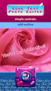 love text photo editor for android and software