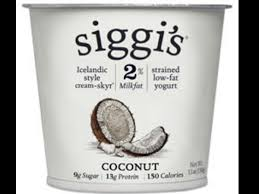 low fat coconut yogurt nutrition facts